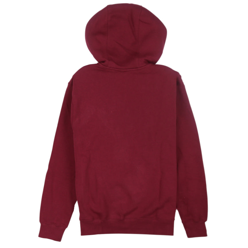 Nike Sportswear Club Fleece Burgundy Full-Zip Hoodie