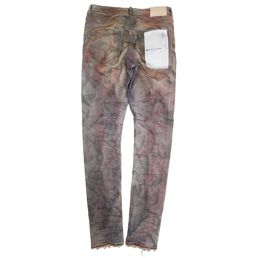 Purple Brand Crimson Indigo Dirty Resin Denim Jeans