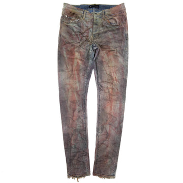 Purple Brand Crimson Indigo Dirty Resin Jeans