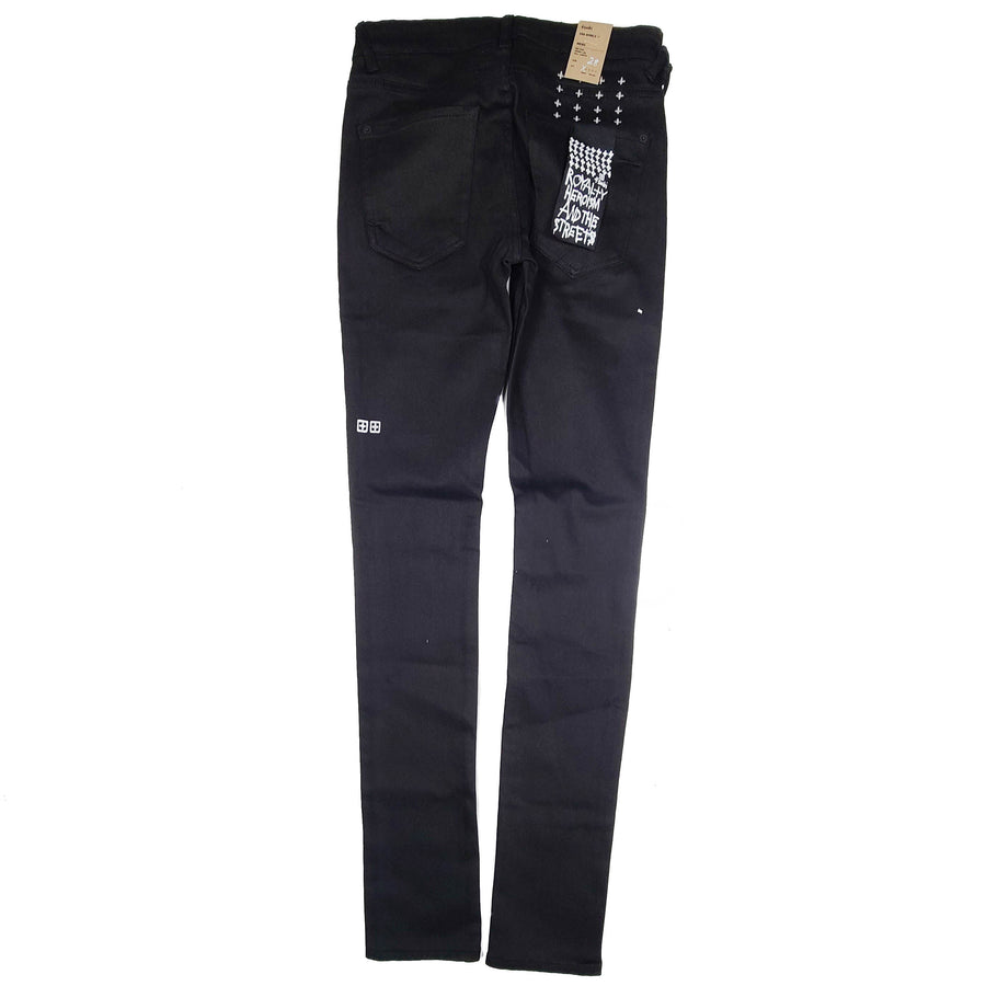 Ksubi Van Winkle Ace Black Slice Denim Jeans
