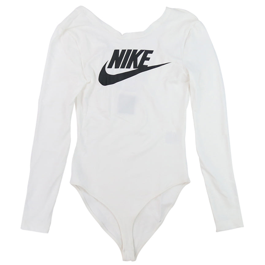 Nike Women's NSW Essential White Bodysuit
