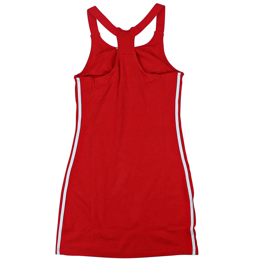 Adidas Women's Adicolor Racerback Red Dress
