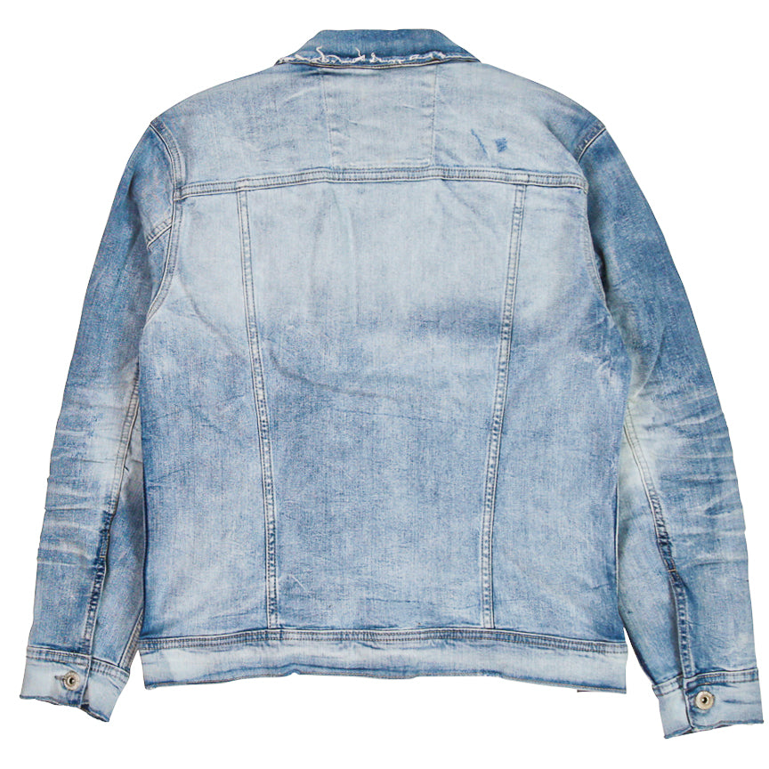 Jordan Craig Soho Denim Artic Wash Trucker Jacket