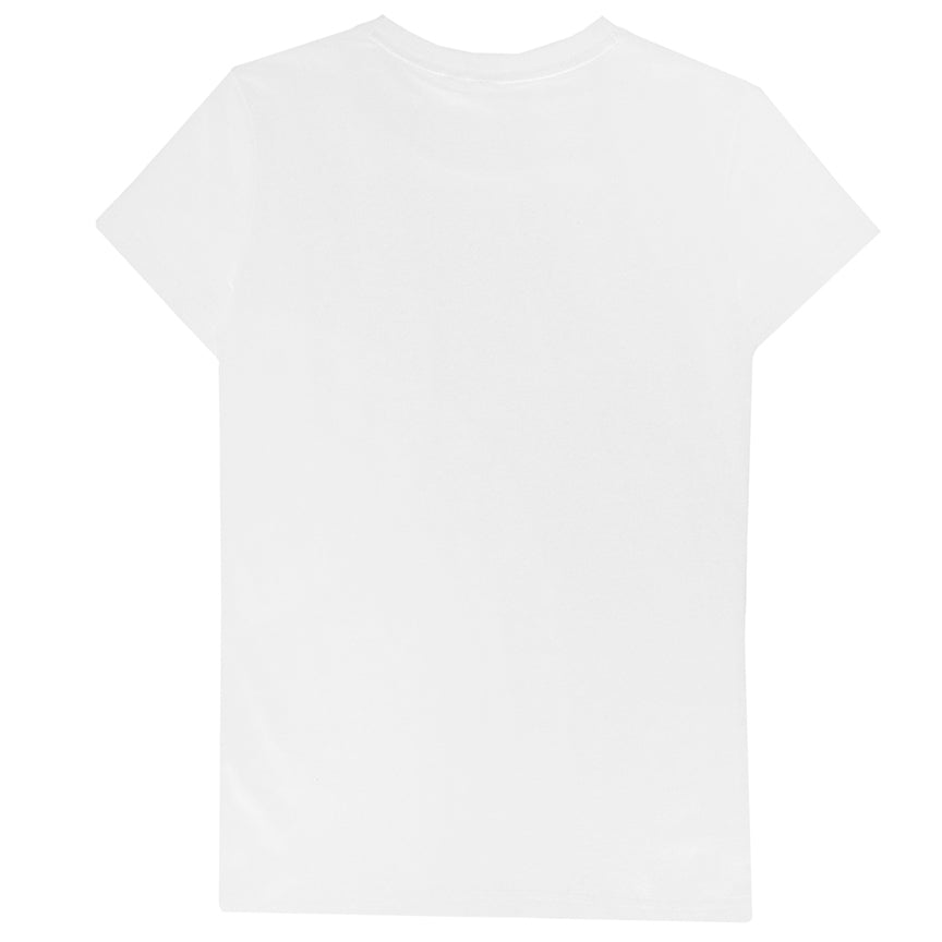 Puma Women's Graphic White T-Shirt