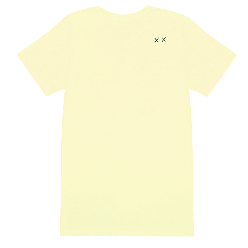 Cult Of Individuality Scribble Shimuchan Yellow T-Shirt