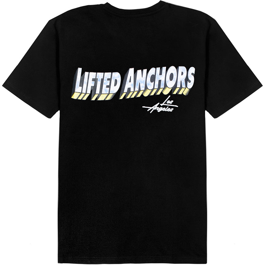 Lifted Anchors 'Souvenir' Black T-Shirt