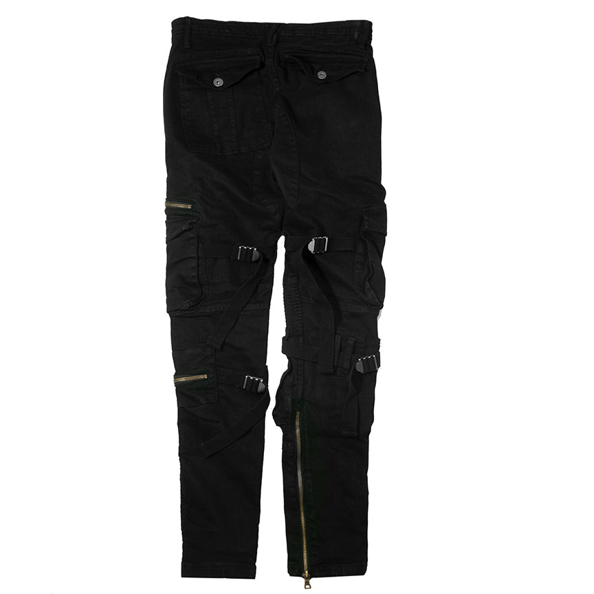 Jordan Craig Ross - Brighton Cargo Black Pants