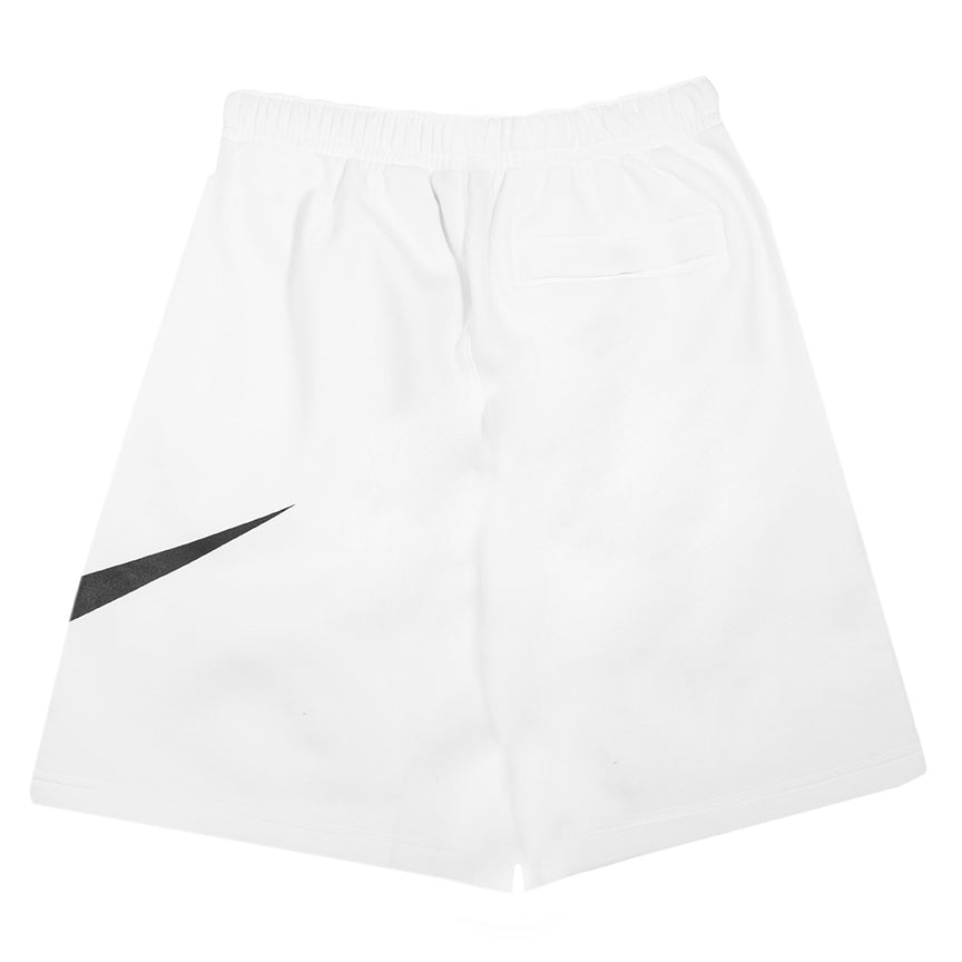 Nike Sportswear Club Fleece Swoosh Shorts White