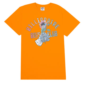Billionaire Boys Club Space Flower Orange T-Shirt