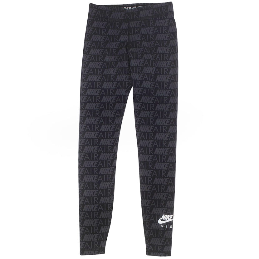 Nike Air Women's Black Printed Leggings