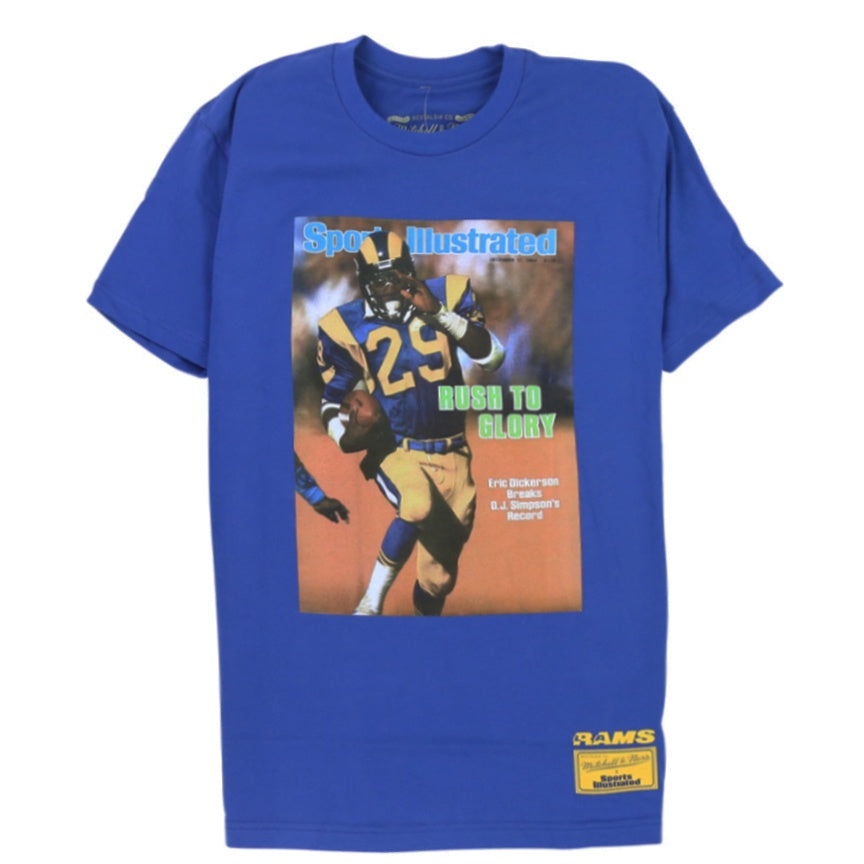Mitchell & Ness Sports Illustrated Vintage Los Angeles Rams Eric Dickerson T-Shirt