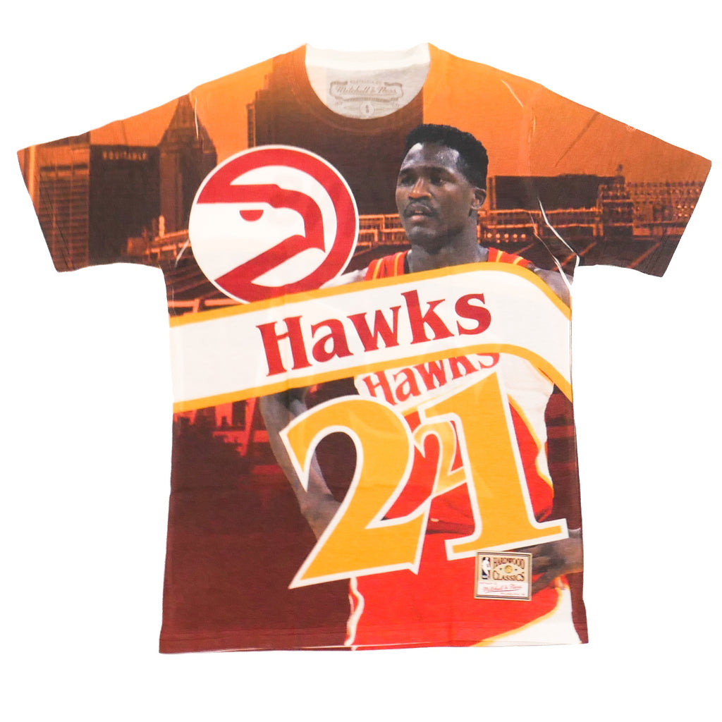 Mitchell & Ness City Pride SS T-Shirt Atlanta Hawks Dominique Wilkins