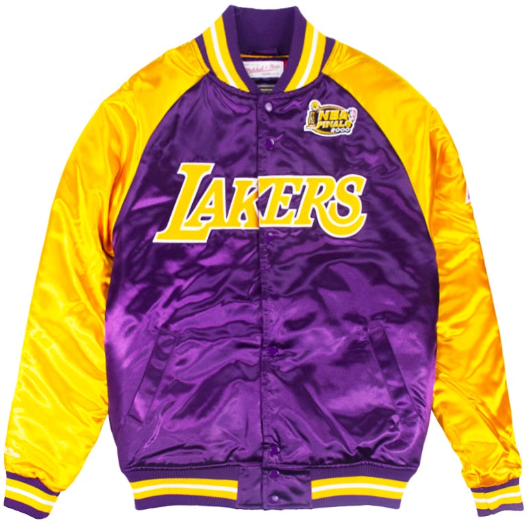 Mitchell & Ness NBA Tough Season Satin Jacket Los Angeles Lakers
