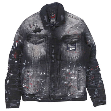 Jordan Craig Avalanche Denim Trucker Jacket (Bred)