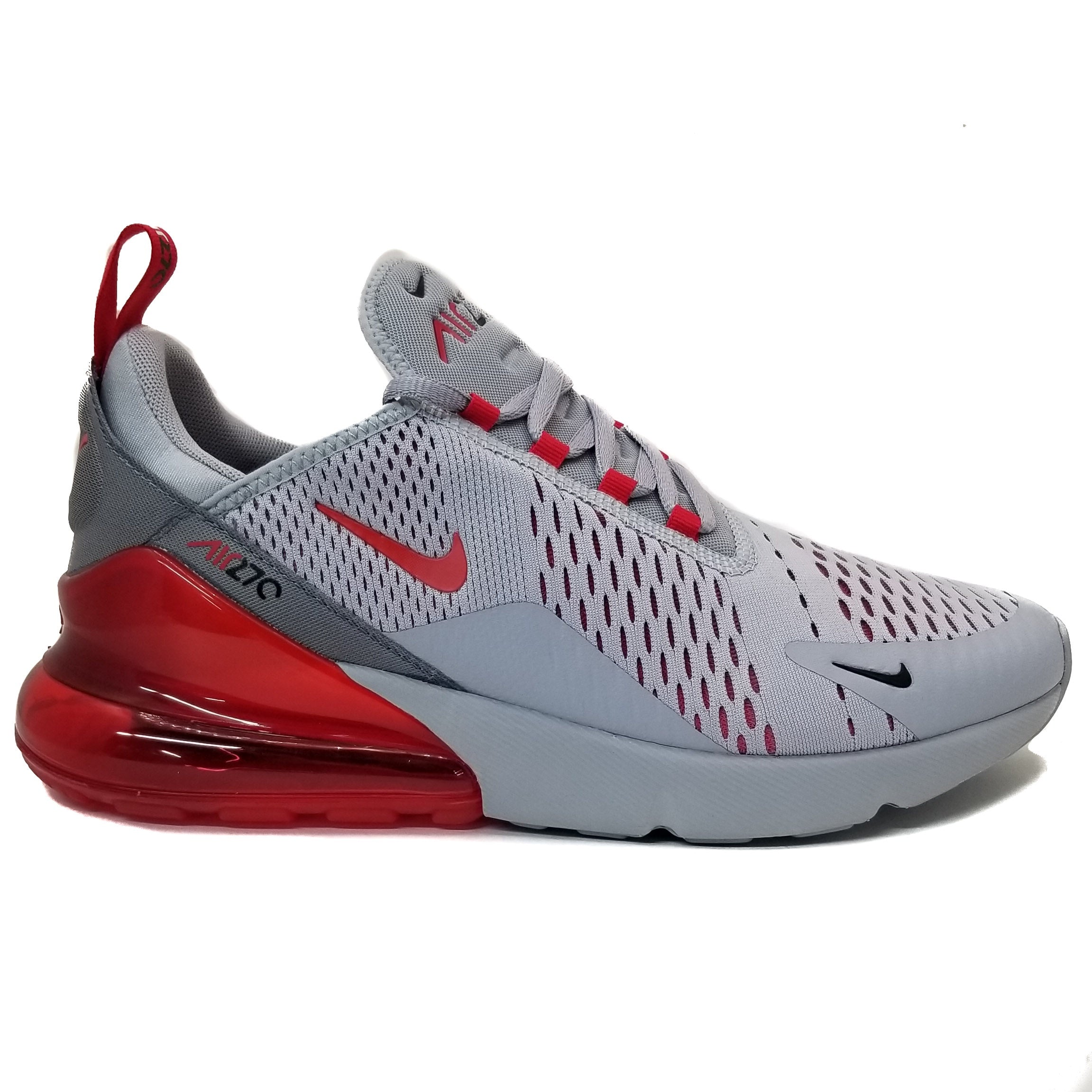 huge selection of 83a85 19342 Nike Air Max 270 Wolf Grey University Red