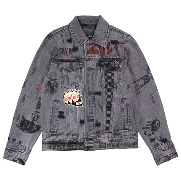 Cult Of Individuality Type IV Black Denim Jacket