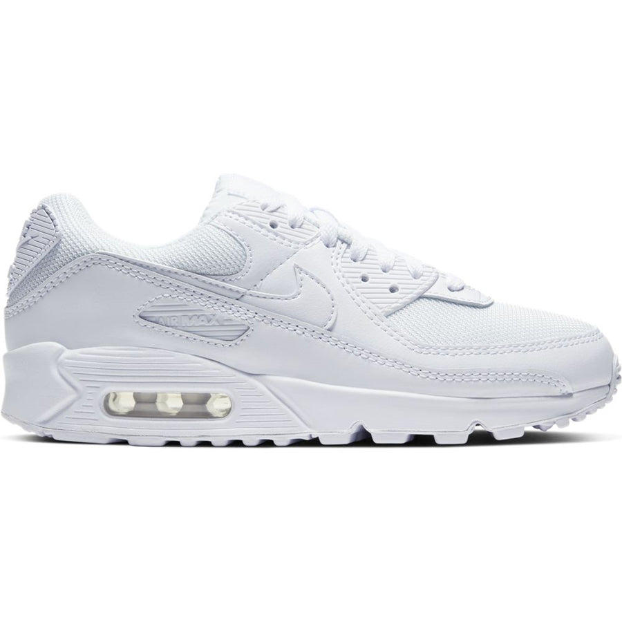 Nike Women's Air Max 90 'Triple White'