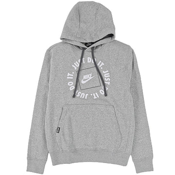Nike Sportswear Just Do It Pullover Grey Hoodie