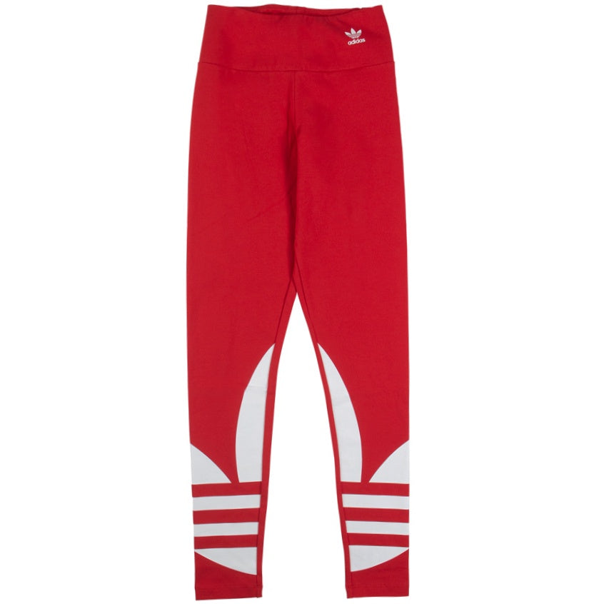 Adidas Women's Large Logo Red Tight