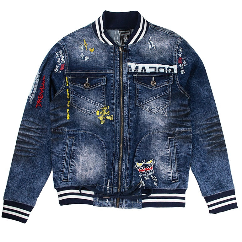 Dreamland Night Crawler Jean Jacket