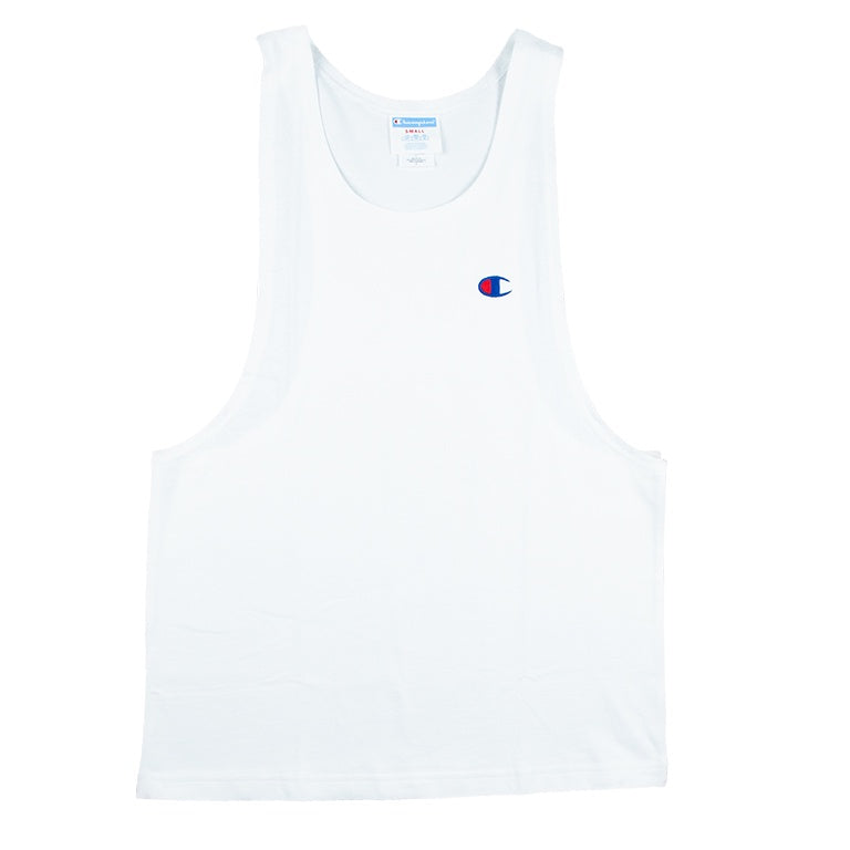 Champion Heritage White Muscle Tank