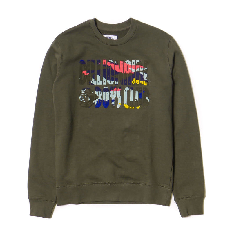 Billionaire Boys Club Flash Crew Olive