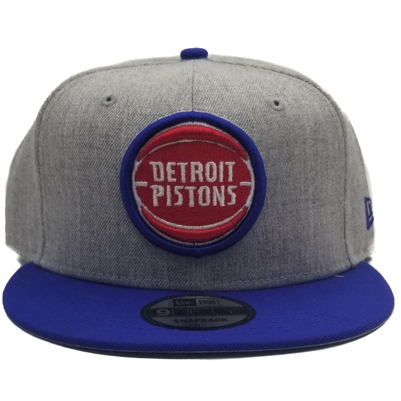 New Era Detroit Pistons 9Fifty 2Tone Grey Adjustable Snapback