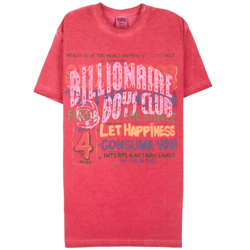 Billionaire Boys Club Stargazer Red T-Shirt