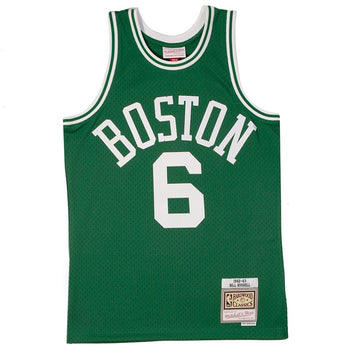 Mitchell & Ness NBA Swingman 'Boston Celtics Bill Russell'