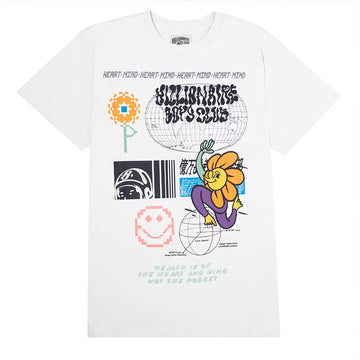 Billionaire Boys Club Flora White T-Shirt