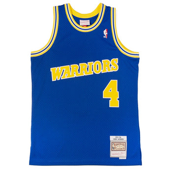 Mitchell & Ness NBA Swingman 'Golden State Warriors Chris Webber'