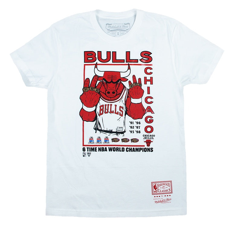 Mitchell & Ness Chicago Bulls Champions T-Shirt