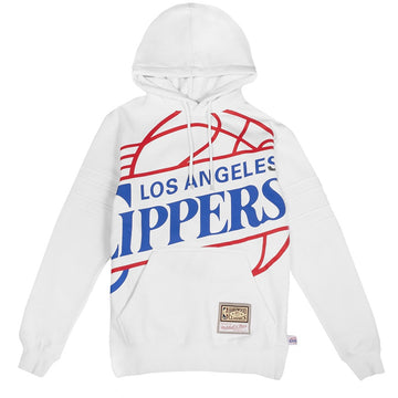 Mitchell and Ness Substantial Fleece Hoodie 'Los Angeles Clippers'