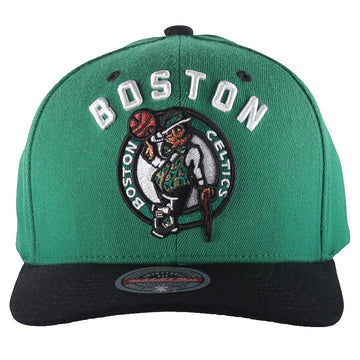 Mitchell & Ness Arco Redline Snapback Boston Celtics