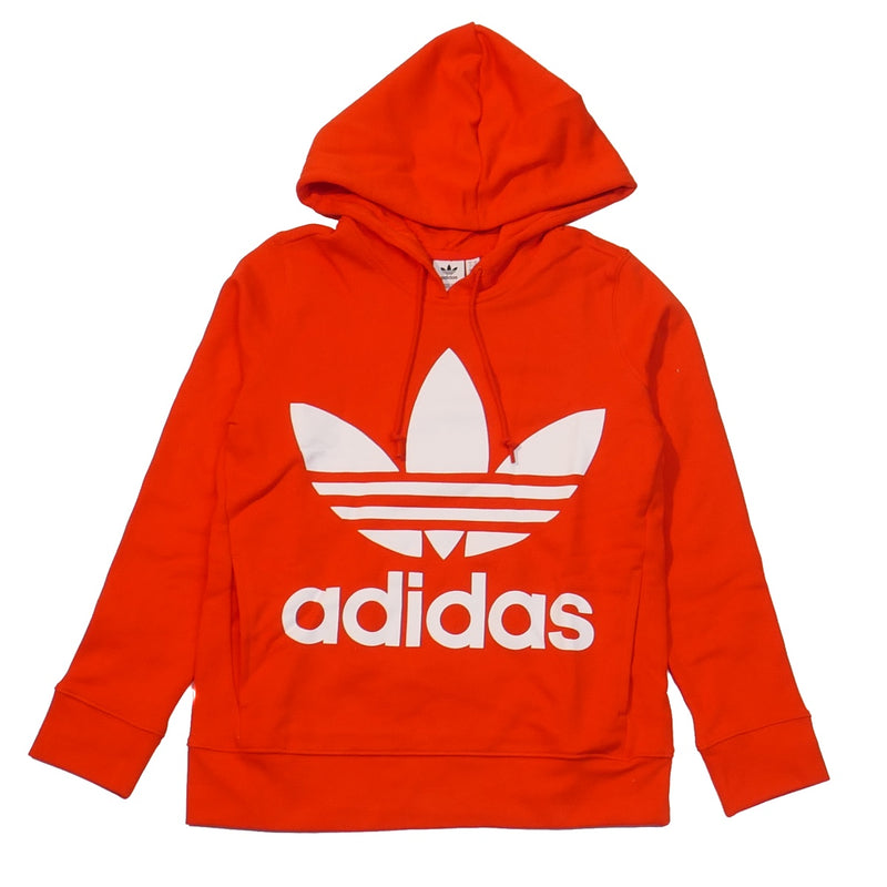 Adidas Women' s Red V-Day Trefoil Hoodie