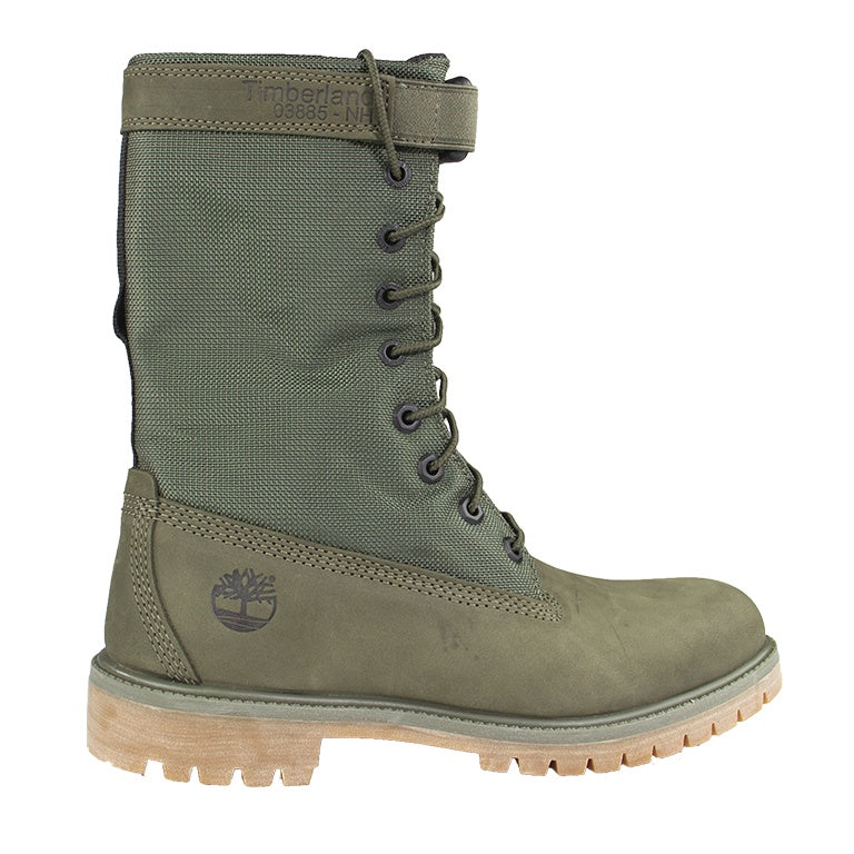 Timberland Premium Mixed-Media Gaiter Boots 'Dark Green'