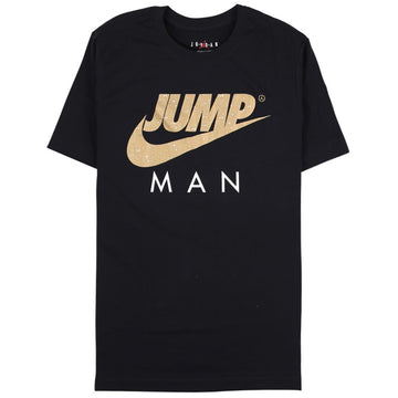 Air Jordan Jumpman Black/Gold T-Shirt