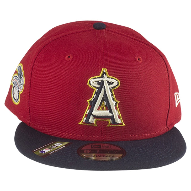 New Era 2019 Stars & Stripes 4th of July Anaheim Angels 9FIFTY Snapback Hat