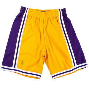 Mitchell & Ness NBA Swingman 96-97 Los Angeles Lakers Short