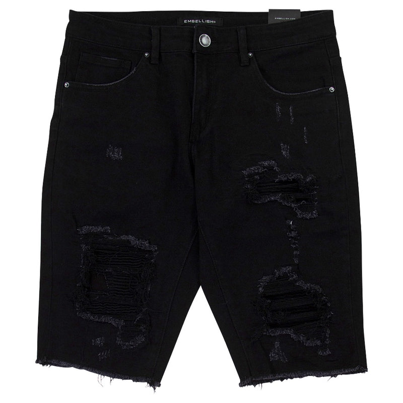 Embellish Julie Black Shorts
