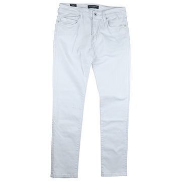 Cult Of Individuality White Rocker Slim Stretch Jean