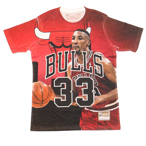 Mitchell & Ness City Pride SS T-Shirt Chicago Bulls Scottie Pippen