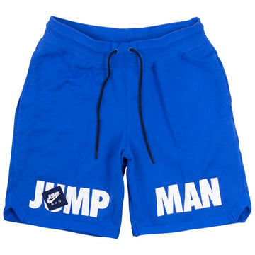 Air Jordan Jumpman Classics Fleece Blue Shorts