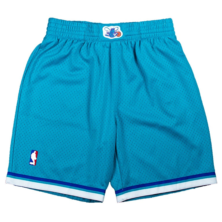 Mitchell & Ness Swingman 1992 Charlotte Hornets Road Shorts
