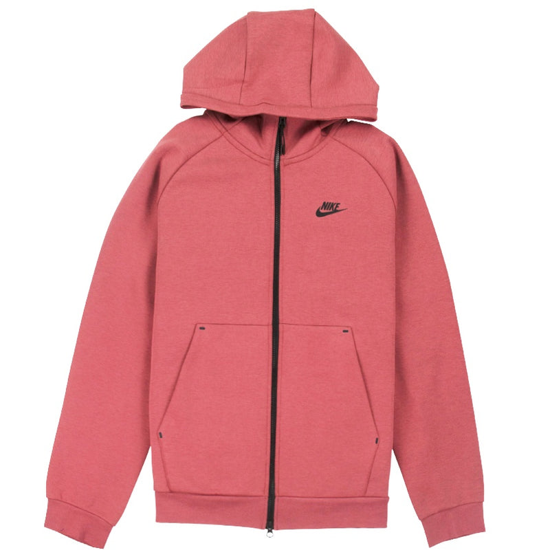 Nike NSW Tech Fleece Full-Zip Rust Hoodie