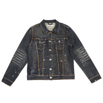 Embellish Leona Denim Dark Indigo Jacket