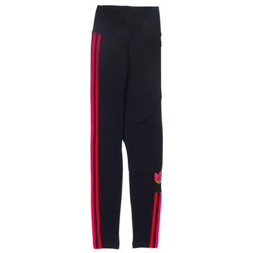 Adidas Women's Adicolor 3D Trefoil Black Tights