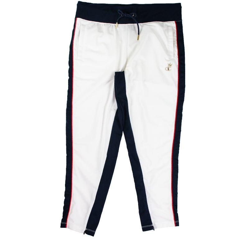 Champion Women's White Slim Leg Track Pant