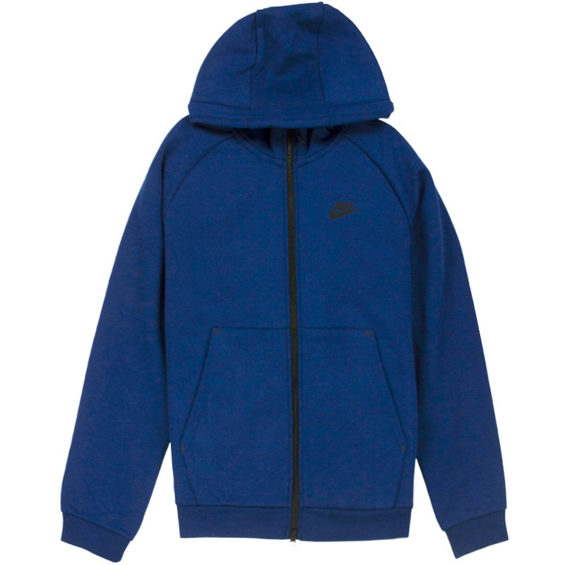 Nike NSW Tech Fleece Full-Zip Blue Hoodie