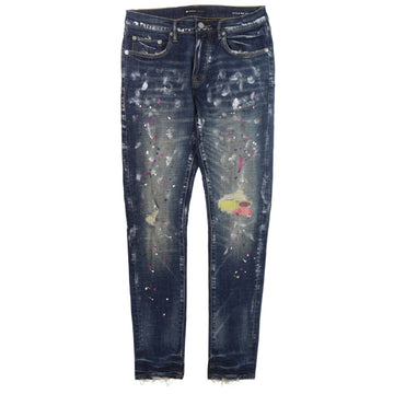 Purple Brand Multi-Color Repair Stitch Jeans